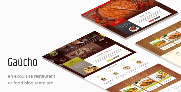Gaucho - Food & Restaurant WP Theme - Restaurants & Cafes Entertainment