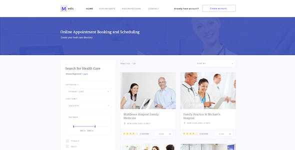 Medic - Health Care & Medical Services Directory