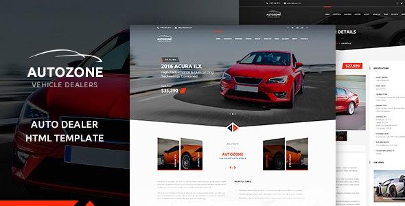 AUTOZONE - Car Dealer HTML Theme - Retail Site Templates