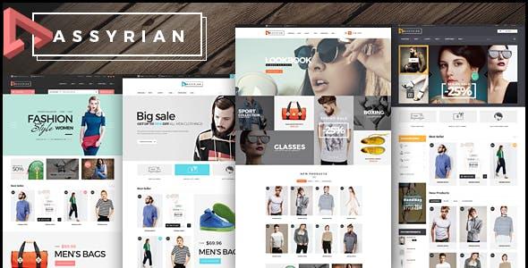 Elegant Fashion Website Template Using Bootstrap 5 - Assyrian