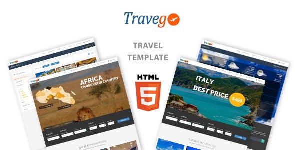 Travego - Travel Theme Responsive