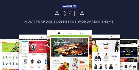 Adela Multipurpose WooCommerce WordPress Theme - WooCommerce eCommerce