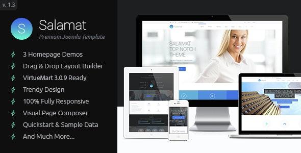 Salamat - Multipurpose Business Joomla Template - Business Corporate