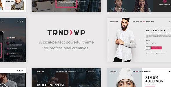 Trendy - Creative Multi-Purpose WordPress Theme - Creative WordPress