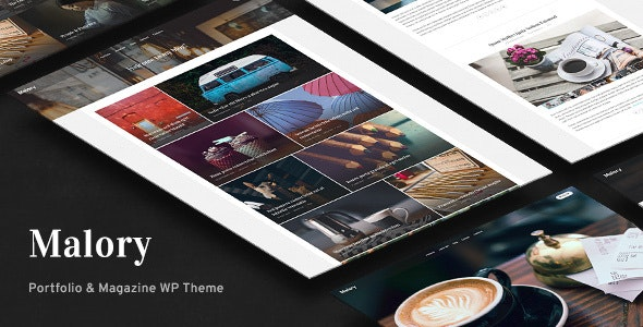 Malory - Photography & Magazine WordPress Theme - Photography Creative