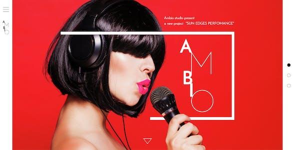 Ambio — Unique Personal Blog | Magazine PSD Theme