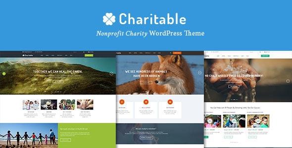 Charitable - Charity Nonprofit Organization WordPress Theme - Nonprofit WordPress