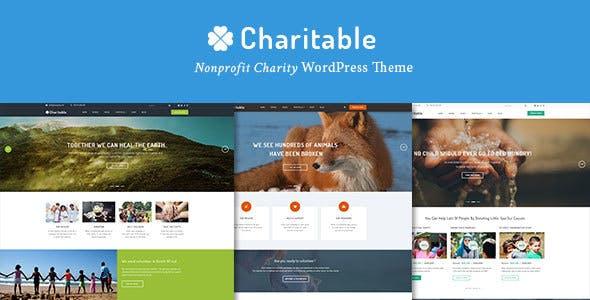 Charitable - Charity Nonprofit Organization WordPress Theme