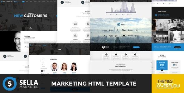 Sella - Marketing HTML Template - Marketing Corporate