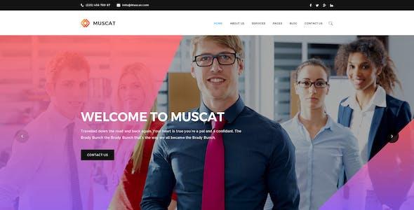 Muscat : Multi-Color Multipurpose PSD Template