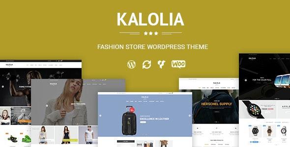 SNS Kalolia - Shop WordPress WooCommerce Theme - WooCommerce eCommerce