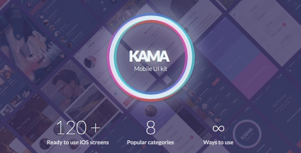 Kama iOS UI Kit - Business Corporate