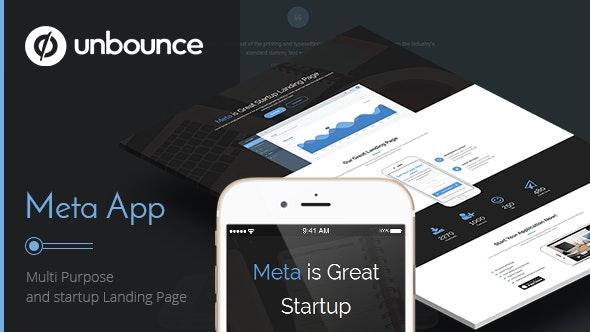 Meta app - Unbounce Landing Page - Unbounce Landing Pages Marketing