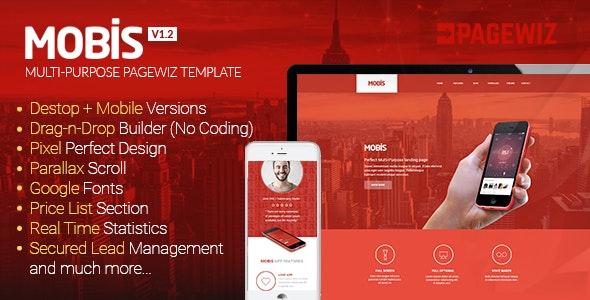 Mobis - Multi-Purpose Landing Page Template - Pagewiz Marketing