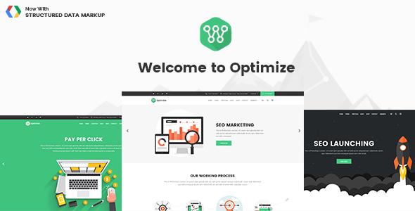 Optimize - SEO, Digital Marketing & Social Media Theme - Marketing Corporate