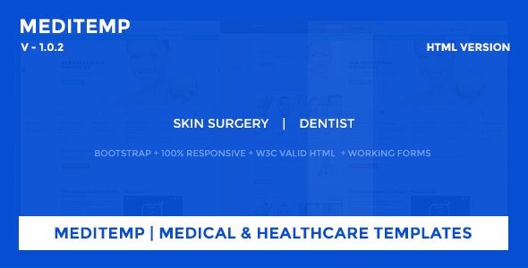 Meditemp | Medical & Healthcare Templates - Site Templates
