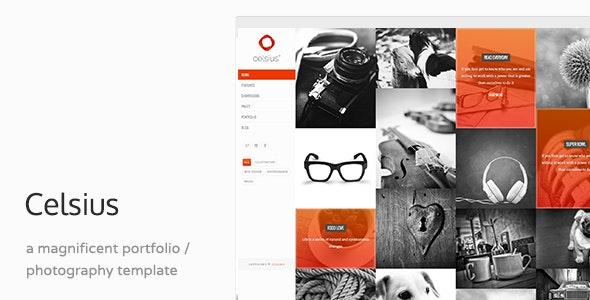 Celsius - Creative Agency Portfolio WP Theme - Portfolio Creative
