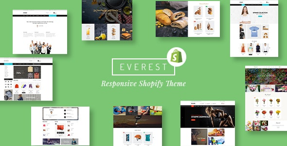 Everest - Multipurpose Responsive Shopify Theme - Shopify eCommerce