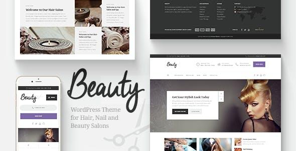 Beauty - Hair Salon & Spa WordPress Theme