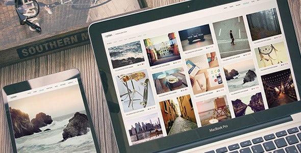 Photography Portfolio WordPress Theme - Oyster - Photography Creative