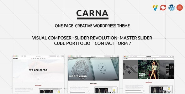 Carna   Responsive Multi-Purpose WordPress Theme - Creative WordPress