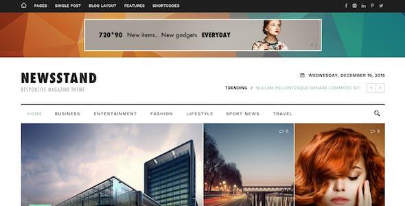 Newsstand - Magazine & Editorial WordPress