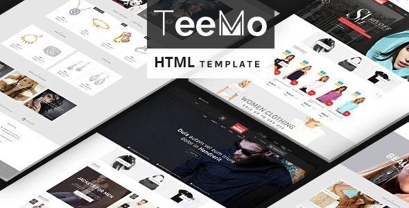 Teemo - Fashion Store HTML Template - Fashion Retail