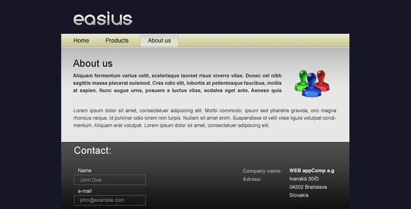 Easius   Products Showcase
