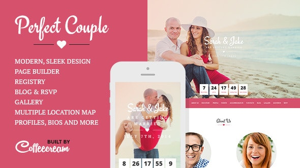 Perfect Couple - Wedding WordPress Theme - Wedding WordPress