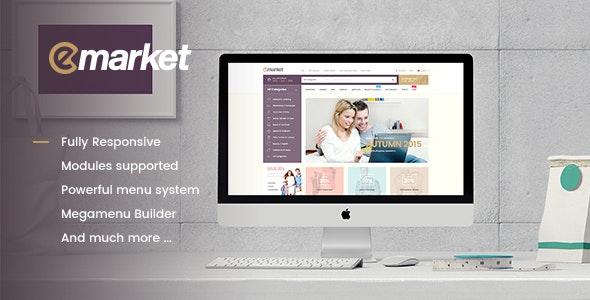 Emarket Multi-purpose WooCommerce Wordpress theme - WooCommerce eCommerce