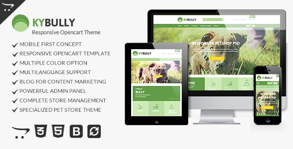 Kybully - Mobile First Opencart Theme - Miscellaneous OpenCart