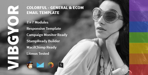 Vibgyor - Multipurpose Creative Email Template - Email Templates Marketing