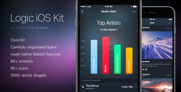 Logic iOS Kit - Creative Sketch