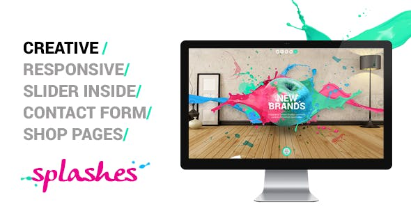 Splashes - Creative Agency Template