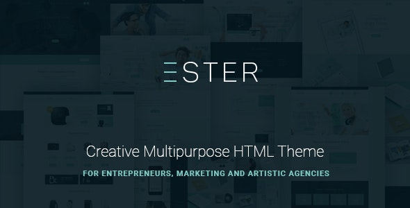 Ester - Multipurpose Site Template - Corporate Site Templates