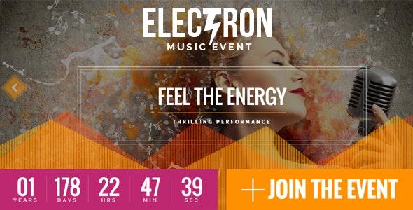Electron - Event Concert & Conference Theme - Events Entertainment