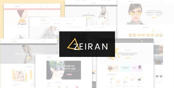 Zeiran - Fashion Furniture Store HTML Template - Fashion Retail