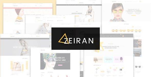 Zeiran - Fashion Furniture Store HTML Template