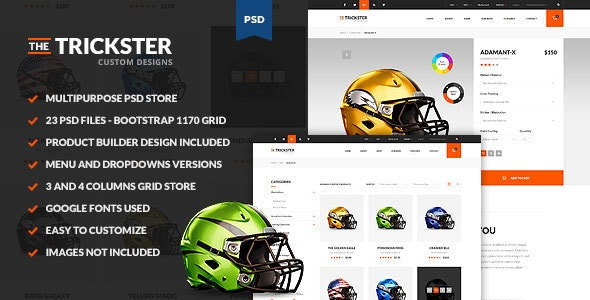 The Trickster - Multipurpose PSD Product Builder - Retail Photoshop