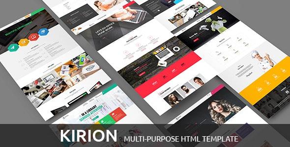 Kirion - Multipurpose Bootstrap Template - Business Corporate