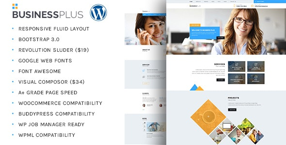 Business Plus - Corporate Business WP Theme - Business Corporate