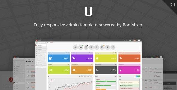 uAdmin - Responsive Admin Dashboard Template - Admin Templates Site Templates