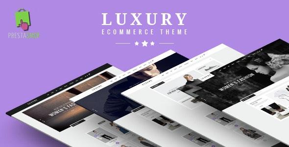 Luxury Fashion eCommerce Responsive Prestashop Theme V1.6 & V1.7 - PrestaShop eCommerce