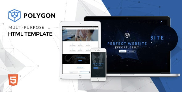 Polygon - Powerful Multipurpose HTML5 Website Template - Business Corporate