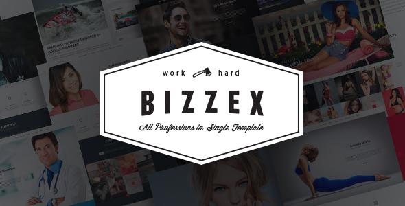 Bizzex - Modern Flat Portfolio Theme - Portfolio Creative