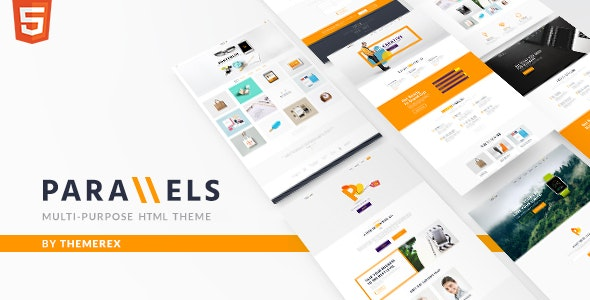 Parallels | Multipurpose Site Template - Business Corporate