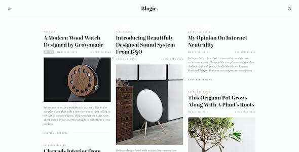 Blogic - A Responsive Blog WordPress Theme