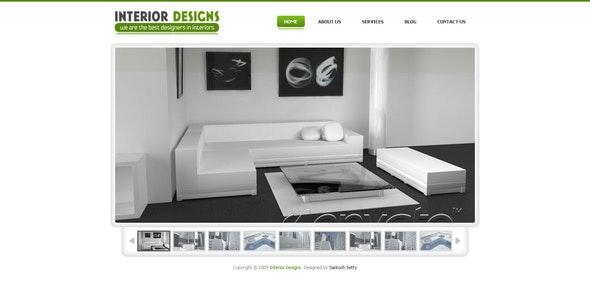 Interior Designs - Drupal 6 Gallery Theme - Drupal CMS Themes