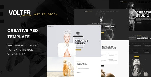 Volter - Creative PSD Template - Creative Photoshop