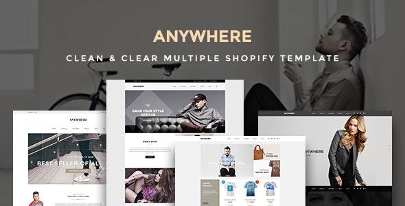Ap Anywhere Shopify Responsive Theme - Fashion Shopify